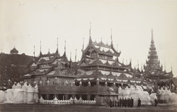 Mandalay. The Royal Phoongye house (abode of priests)